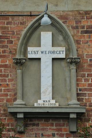 Exeter All Saints Memorial Cross