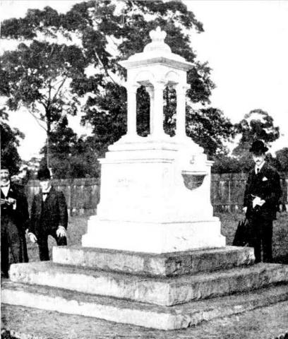 Chatswood Boer War Memorial Fountain 1901 unveiling
