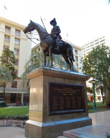 Anzac Square Boer War Memorial