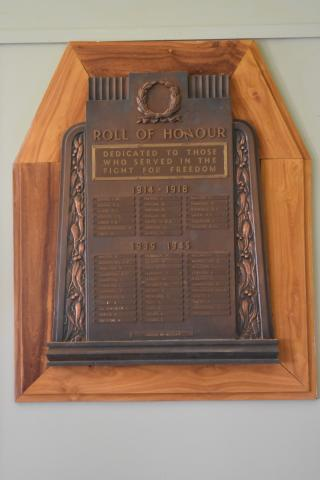 Hungerford Roll of Honour
