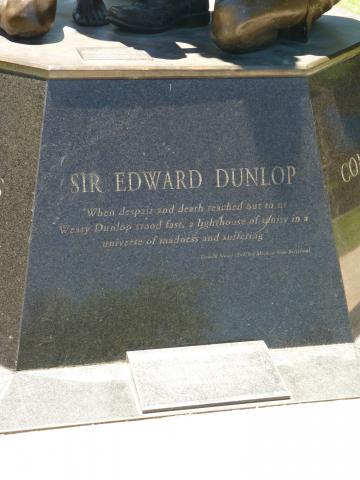 "Sir Edward Dunlop - ""...a lighthouse of sanity"""