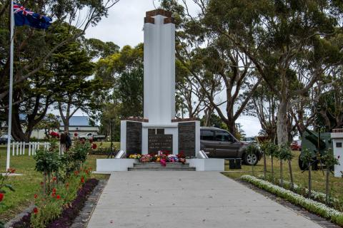Cenotaph from front