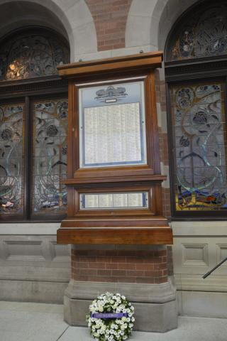 NSW Government Railway and Tramway Honour Board