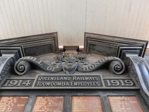 Queensland Railways Employees Roll of Honour
