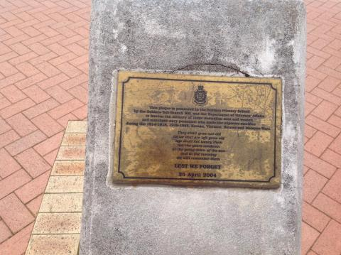 'CITIZENS OF SUBIACO WHO ANSWERED THE EMPIRE'S CALL' Honour board