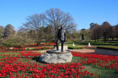 General Sir John Monash Commemorative Statue in the grounds of the Australian War Memorial, Canberra