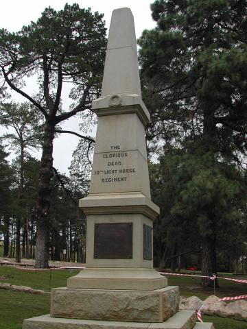The Memorial Obelisk to the 10th Light Horse