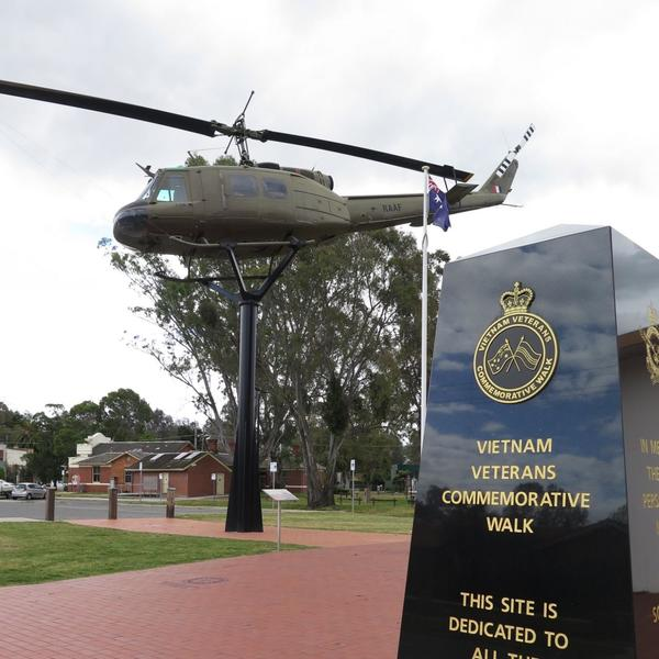 Vietnam Veterans Commemorative Walk, Seymour