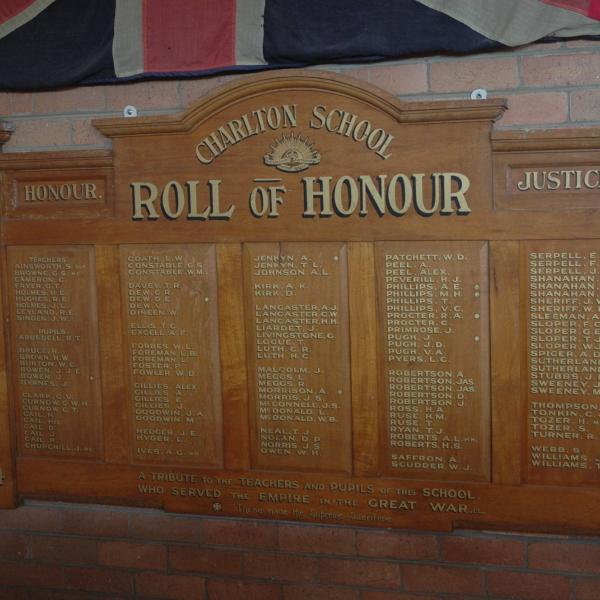 Charlton RSL Honour Roll