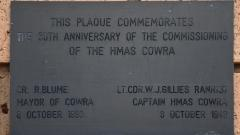 Commemorating the 50th anniversary of the commissioning of HMAS Cowra