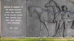 Horses of the Desert Mounted Corps Memorial