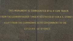 "HMAS Sydney 1 - Destruction of ""Emden"" Memorial"