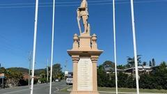 War memorial in Upper Coomera