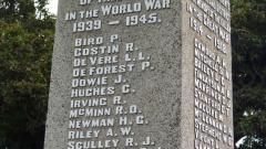 Second World War Roll of Honour