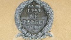 'Lest We Forget' First and Second World Wars