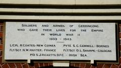 Those who died during the Second World War