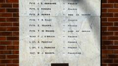 Those who died during the First World War