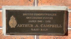Commemorating the British Commonwealth Occupation Force in Japan