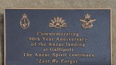 Commemorating the 90th anniversary of the Gallipoli landings