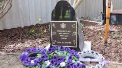 The memorial to the animals that served alongside our servicemen and women was installed and dedicated in 2017, with thanks to the Australian War Animal Memorial Organisation for the donation of the plaque