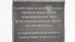 Returned Sister's Sub Branch Plaque at the Centaur Memorial