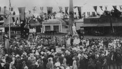 Beaudesert War Memorial Unveiling Ceremony