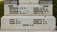 The Second World War Roll of Honour B-H