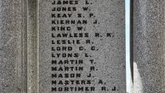 The First World War Roll of Honour H-O
