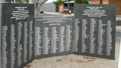 The Second World War Honour Roll wall