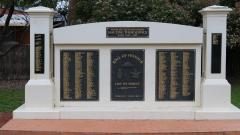 Yackandandah Memorial to those who served - WW1 to Post-Vietnam Conflicts