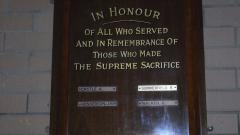 Serpentine Roll of Honour The Great War 1914 - 18