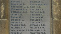 The First World War Roll of Honour M-W