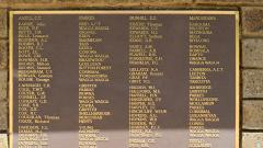 Roll of Honour, A-J