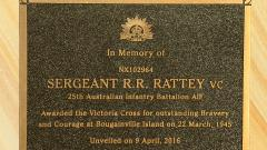 In Memory of Sergeant RR Rattey VC