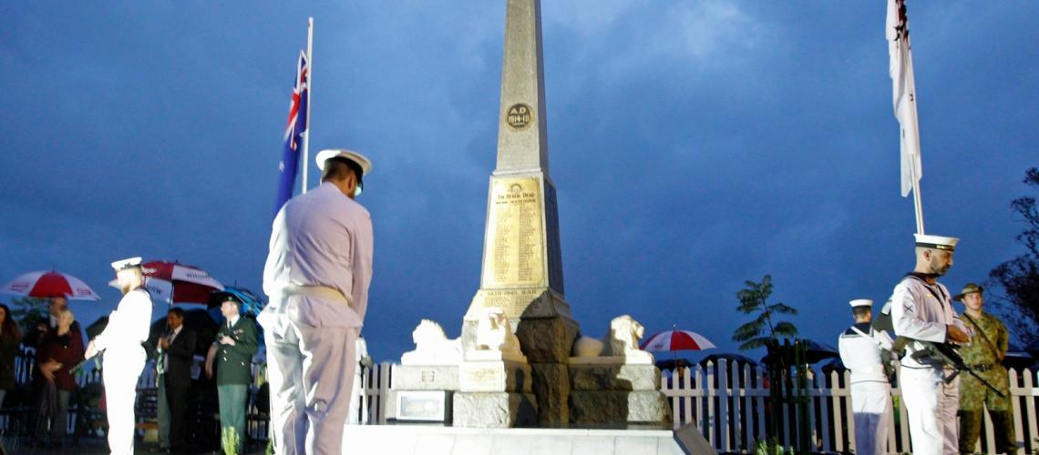 Anzac Day 2016 in Yarloop