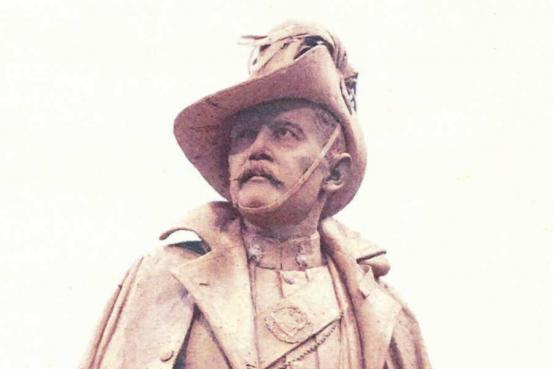 Statue of Kenneth Mackay