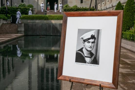 "Edward ""Teddy"" Sheean posthumously receives was awarded Australia's highest military honour for acts of bravery during wartime"