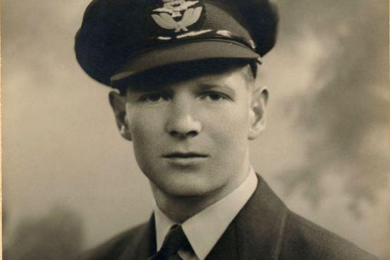 Owen Cook was 22 years old when he was flying Lancaster bombers over Europe during the Second World War.