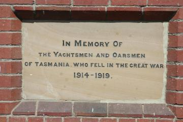 Tasmanian Yachtsmen and Oarsmen Memorial Stone