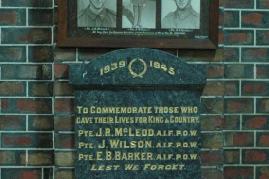 McLeod, Wilson,and Barker Memorial