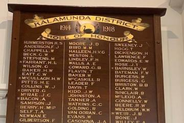Kalamunda District Roll of Honour
