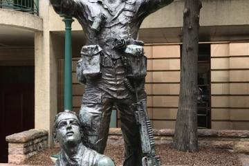 Anzac Square Vietnam Memorial