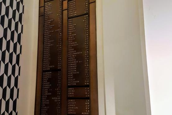 Commonwealth Bank of Australia Second World War Roll of Honour