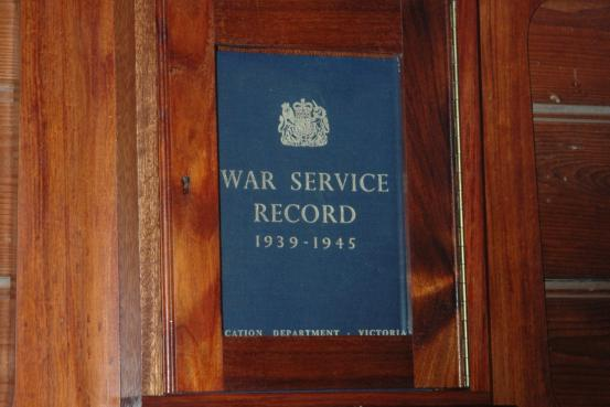 Emu School Record of Service WW2