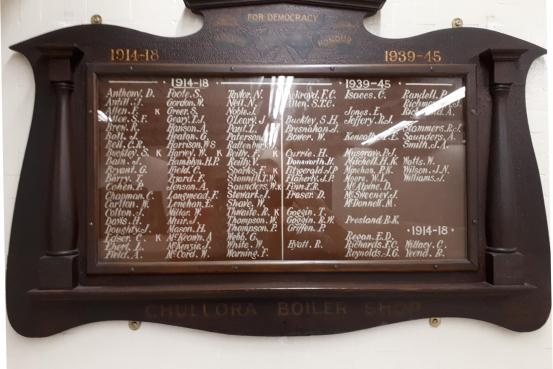 For Democracy - Roll of Honour 1914-18    1939-45