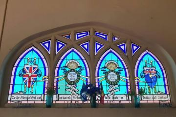 Point McLeay Mission Church War Memorial Window
