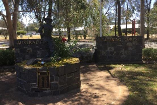 Australian Army Catering Corps Memorial Wall