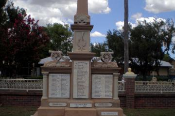 Allora Shire Soldiers Memorial