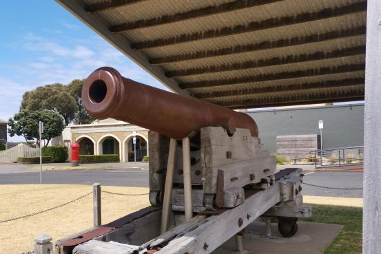 Warrnambool Garrison 68 Pound Smooth Bore Cannon