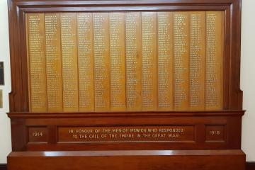 WWI Honour Board